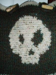 Wonky Skull close up